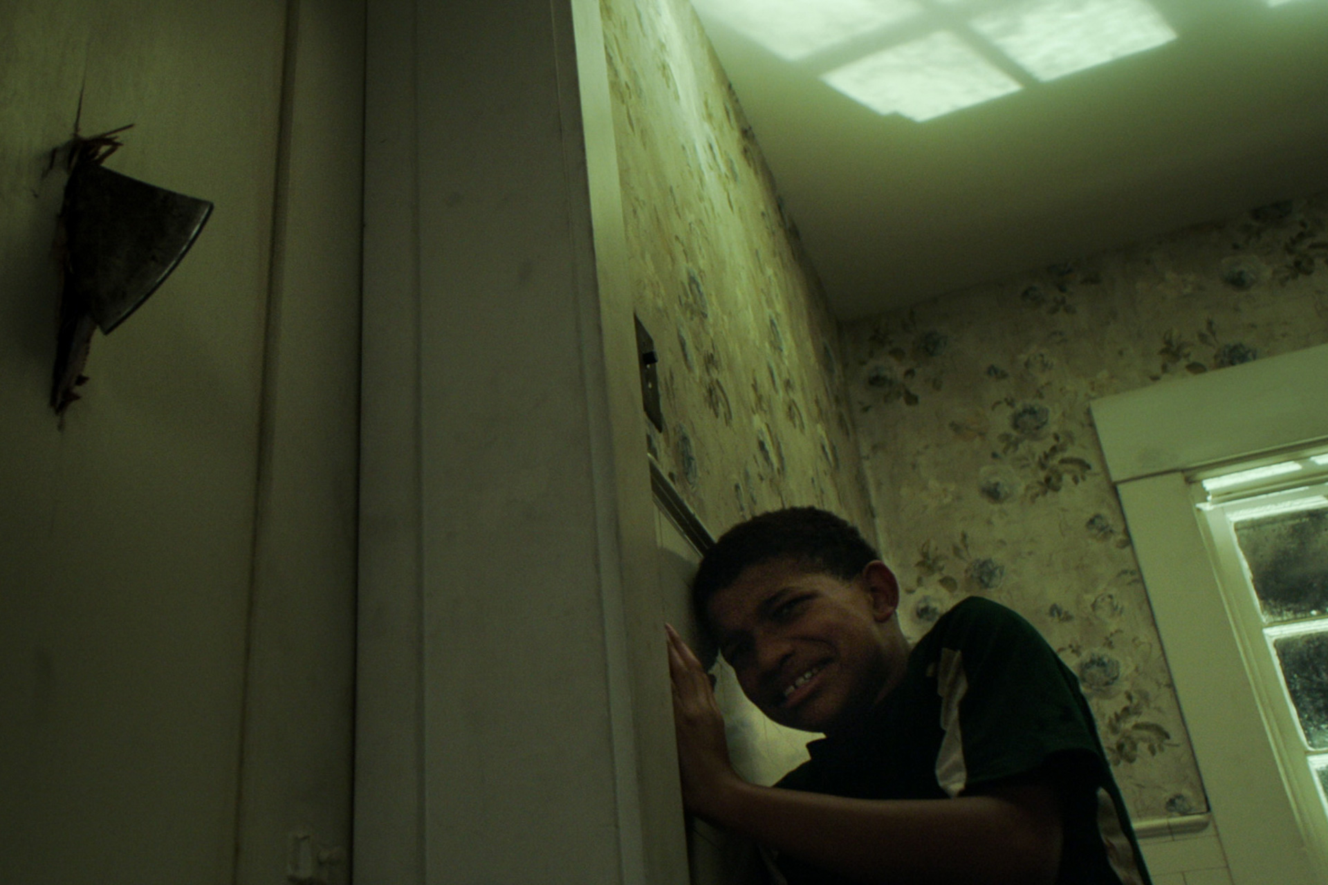 Boy Behind the Door